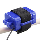 8.4 V 6X 18650 Waterdichte Batterij Case Huis Cover Voor Fiets Lamp DMG_