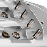 Palo C802 4 Slots 1.2V AA AAA 9V 6F22 Li-ion Nimh Nicd Batterijlader_