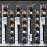 ELMPortable7-KanaalsProfessioneleLiveStudio Audio Mixer USB Mixing Console KTV DJ Karaoke_