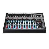 7 Kanaals USB Draagbare Monitor Mixer Bluetooth Live Studio Audio Mixing Console voor Karaoke DJ_