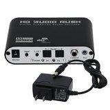 Digitaal naar Analog AC3 Optisch naar Stereo Surround HD 5.1 Audio Decoder 2 SPDIF Poorten HD Audio Rush_