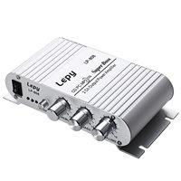 Lepy LP-808 12V MiNi Portable Wired HiFi Versterker Voor Home Car Phone