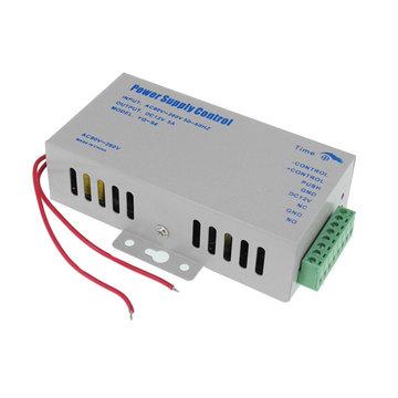 AC 110-220 V Ingang DC 12 V 5A Uitgang Toegangscontrole Voeding voor Deur RFID Vingerafdruk Toegangscontrole Machine Apparaat