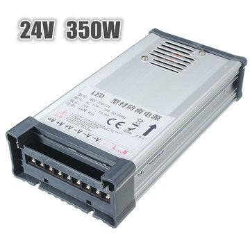 IP65 AC 170V-264V Naar DC 24V 350W Switching Power Supply Driver Adapter