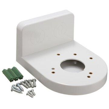 Plastic L Type Rechthoekige Beugel Muurmontage voor CCTV Dome IP Beveiligingscamera