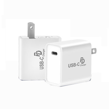 18W PD snellader Wandlader USB Type C Stroomadapter voor iPhoneXS max XR X 8plus mobiele telefoon