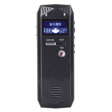 8 GB 16GB 32GB Oplaadbare spraakrecorderpen MP3-speler Ondersteuning TF-kaart Line-in record