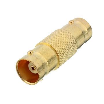 1pc Vrouwelijk tott Vrouwelijk BNC Barrel Connectotr CCTV Coaxiale Adapter voor Camera Kabel
