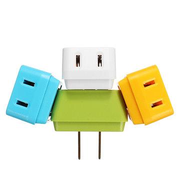 Kleurrijke 1 tot 3 US naar de US Trapezoide Plug Adapter Switch