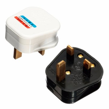 3 Pin 13A 13 AMP UK Stekker Stekker Top Apparaat Stroomaansluiting Zekering Adapter Huishoudelijk