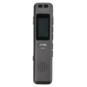 Draagbare 8 GB digitale audiogeluid Voice-recorder Pen MP3-speler Automatische opname