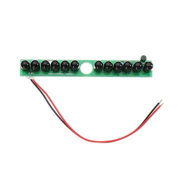 12 stks IR LEDs Infrarood Illuminator Board Onzichtbaar Geen Rood Licht 940nm 60 Graden LED Lamp voor Camera