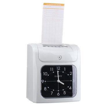 Elektronische Medewerker Analoge Tijd Recorder Tijd Klok Met Card Tijd Aanwezigheid Machine