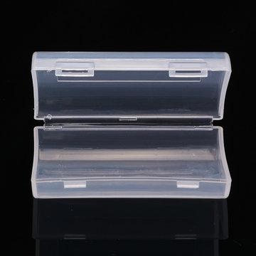Palo 2 Slot AA AAA Batterij Harde Plastic Opslag Organisatie Case Cover Houder