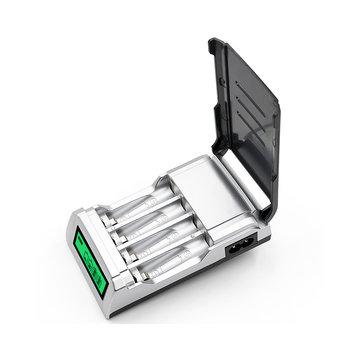 Palo C905W 4-polig LCD-scherm AA AAA NiCd NiMh Oplaadbare batterijoplader