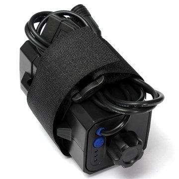 4x18650 batterijen Pack Case of Outdoor waterdichte hoes voor Bicycle Lamp