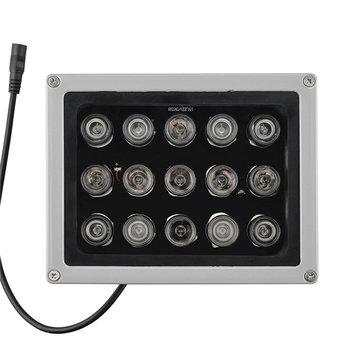 12 V 15 Stks IR LEDs Array Illuminator Infrarood Lamp IP65 850nm Waterdichte Nachtzicht voor CCTV Camera