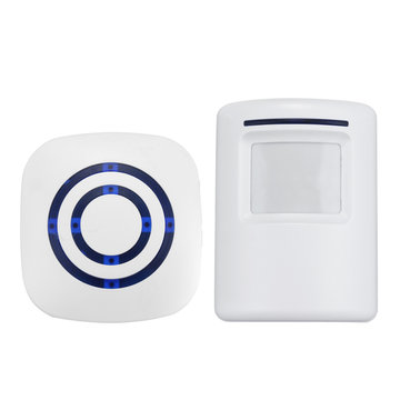 Wireless Infrared Motion Activated PIR Sensor Entry Doorbell Chime Welkom Chime
