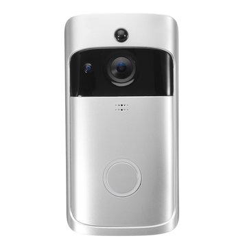 Draadloze WiFi Video Deurbel Camera Deurbel Two Way Audio APP Controle iOS Android Batterij Aangedreven