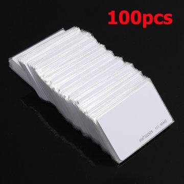 100st RFID 125kHz Proximity Deur Controle Entry Access EM kaart 0.9mm