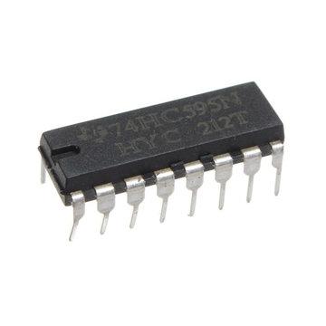 250 stuks SN74HC595N 74HC595 74HC595N HC595 DIP-16 8 bits schakelregister IC