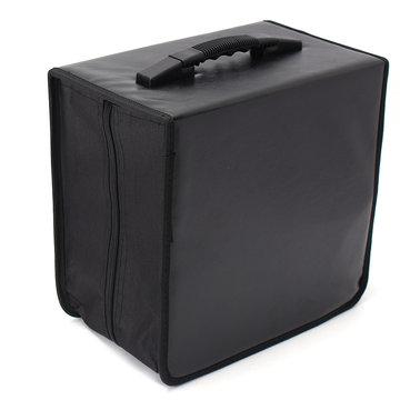 520 Discs CD DVD DJ Wallet Holder Bag Case Album Organizer Media Storage