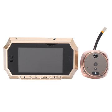 160 graden uitzicht Digitale LCD-deur kijkgaatje Viewer Eye-deurbel IR Camera Bewegingsdetectiemonitor