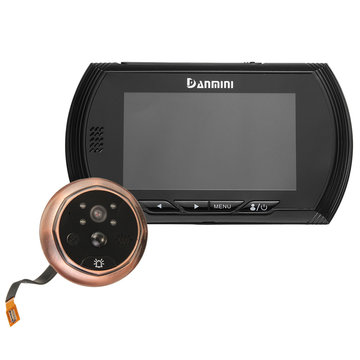 4.3 inch LCD-deurbel kijkgaatje Viewer Deur van het Huis Security Camera Video Monitor Night Vision