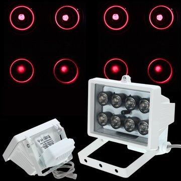 8LED 12V Night Vision Lamp IR Infraroodlichtverlichting voor beveiligingscamera