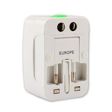 Universele Reisadapter US UK AU EU-stopcontactdoos