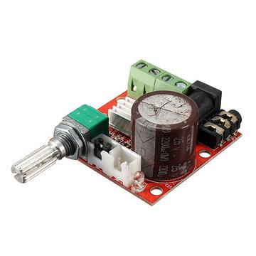 12V Mini Hi-Fi PAM8610 2X10W Audio Stereo Versterker Board Dual Channel
