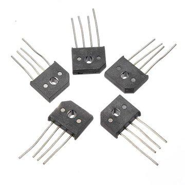 5 stuks 10A 1000V KBU1010 enkele fasen diode gelijkrichter brug IC chip