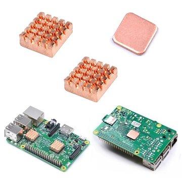 Raspberry Pi 2/3 Koper Warmtepunten Heatsink Met Speciale Thermische Koelplast