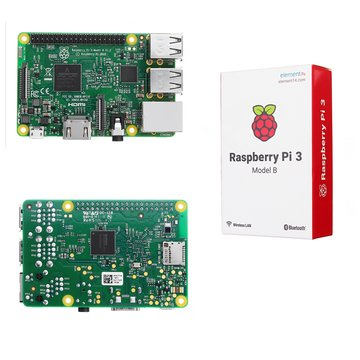 Raspberry Pi 3 Model B ARM Cortex-A53 CPU 1.2GHz 64-bits Quad-Core 1GB RAM 10 Tijden B+