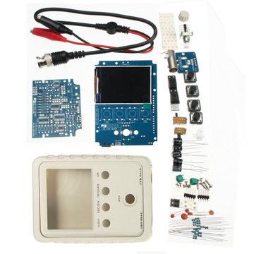 Originele Jyetech DSO-SHELL DSO150 15002K DIY digitale oscilloscoopset SMD gesoldeerd met behuizing