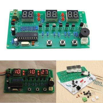 5V-12V AT89C2051 Multifunctionele Zes Digitale LED DIY Elektronische Klokset