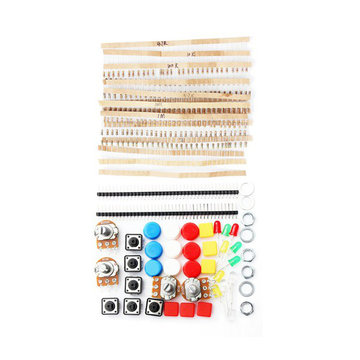 Elektronische onderdelen Componentweerstanden Drukknopschakelaar Kit voor Arduino