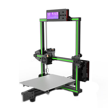 Anet® E2 DIY-aluminiumlegering 3D-printerkit Geluidsarm 220 * 270 * 220mm Printformaat Ondersteuning Soft Gloeidraaddruk met groot LCD-scherm