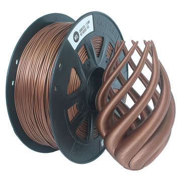 CCTREE® 1,75 mm 1KG / Roll Metal Bronze / Copper Filled Filament voor Creality CR-10 / Ender 3/Anet 3D-printer