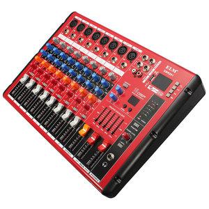 EL M SMR801 8-Kanaals Bluetooth Karaoke KTV DJ Stage Mixer Mengpaneel