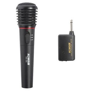 KONGIN KM-306 Draadloze Microfoon Met Ontvangerbereik 15M Elektronisch
