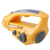 Digital Hand Crank Solar Zelfbediende Dynamo AM / FM Radio Receiver Met Lichtlamp Cell Phone Charger_