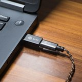BGVP T01 2.5 / 3.5mm USB DAC HIFI Audioversterker Type-c Micro USB-kabel met adapter Compatibel met mobiele pc Windows OS_