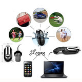 Mini GPS Tracker Locater voertuigfiets Realtime GPS/GSM/GPRS Device Tracking_