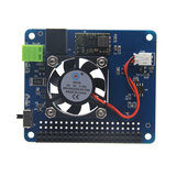 Programmable Smart Temperature Control Fan and Power Expansion Board For Raspberry Pi _
