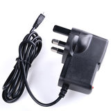 5Pcs 5V 2.5A UK Power Supply Charger Micro USB AC Adapter For Raspberry Pi 3_