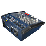 EL M PMX402D-USB 48V 4 Channel USB KTV Karaoke Audio Stage Mixer With Power Amplifier _