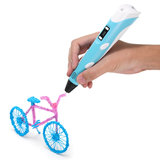 DIY Graffiti Three-Dimensional Shape 3D Printer Pen With PLA Filament  For Children's Education_