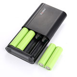 Mobiele telefoon 4 x 18650 Power Bank Case 5V 2A Dual USB LCD Powerbank Doos Draagbare DIY Batterijoplader_