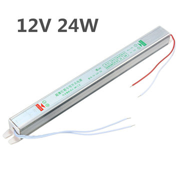 IP20 AC200V-264V Naar DC12V 24W Switching Power Supply Driver Adapter